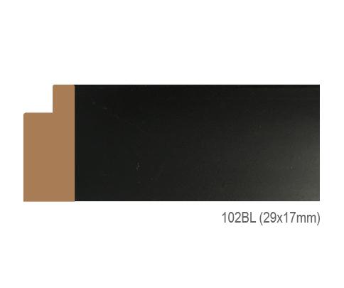 Thanh khung, phào (nẹp) làm khung tranh, khung hình mã 102BL