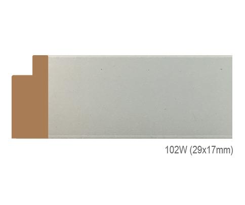 Thanh khung, phào (nẹp) làm khung tranh, khung hình mã 102W