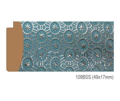 Thanh khung, phào (nẹp) làm khung tranh, khung hình mã 109BSS