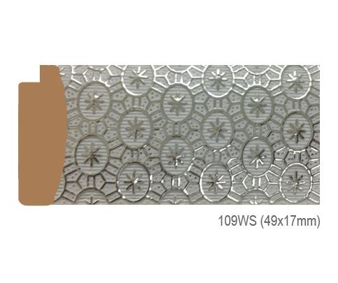 Thanh khung, phào (nẹp) làm khung tranh, khung hình mã 109WS