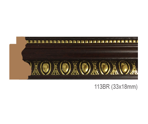 Thanh khung, phào (nẹp) làm khung tranh, khung hình mã 113BR