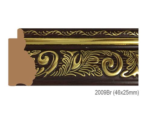 Thanh khung, phào (nẹp) làm khung tranh, khung hình mã 2009BR