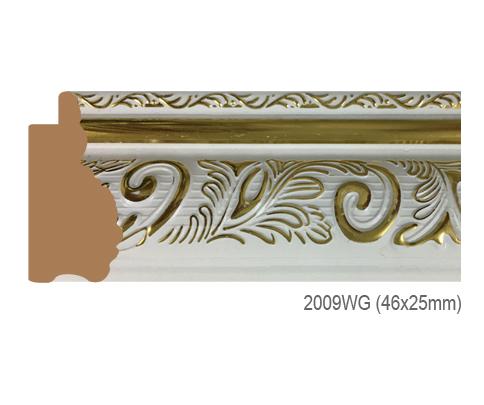 Thanh khung, phào (nẹp) làm khung tranh, khung hình mã 2009WG