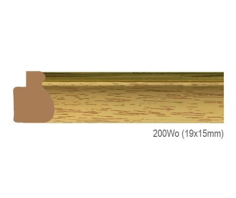 Thanh khung, phào (nẹp) làm khung tranh, khung hình mã 200WO