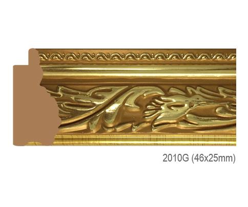 Thanh khung, phào (nẹp) làm khung tranh, khung hình mã 2010G