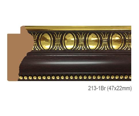 Thanh khung, phào (nẹp) làm khung tranh, khung hình mã 213-1BR