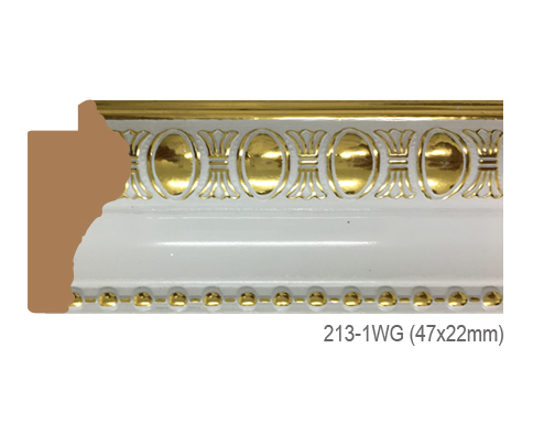 Thanh khung, phào (nẹp) làm khung tranh, khung hình mã 213-1WG