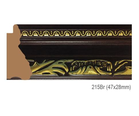 Thanh khung, phào (nẹp) làm khung tranh, khung hình mã 215BR