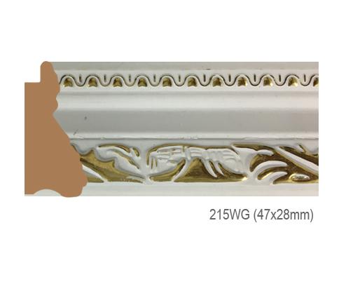 Thanh khung, phào (nẹp) làm khung tranh, khung hình mã 215WG