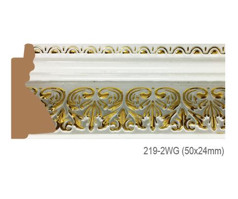 Thanh khung, phào (nẹp) làm khung tranh, khung hình mã 219-2WG