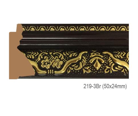 Thanh khung, phào (nẹp) làm khung tranh, khung hình mã 219-3BR