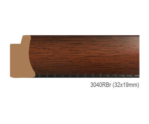 Thanh khung, phào (nẹp) làm khung tranh, khung hình mã 3040RBR