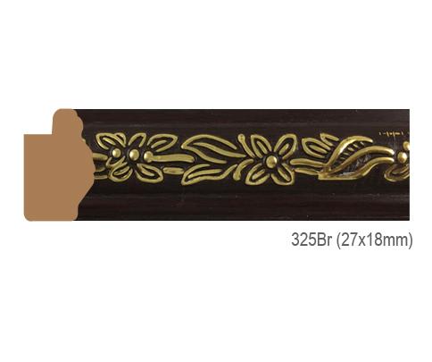 Thanh khung, phào (nẹp) làm khung tranh, khung hình mã 325BR