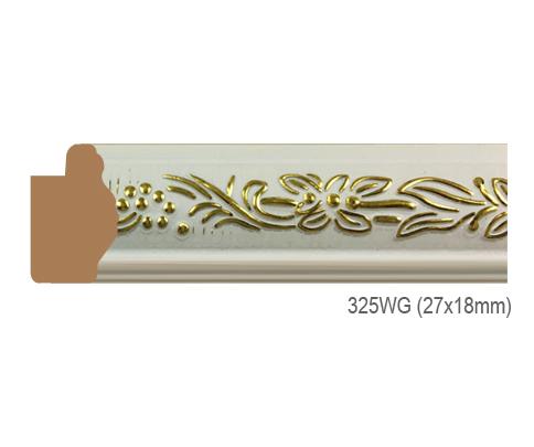 Thanh khung, phào (nẹp) làm khung tranh, khung hình mã 325WG