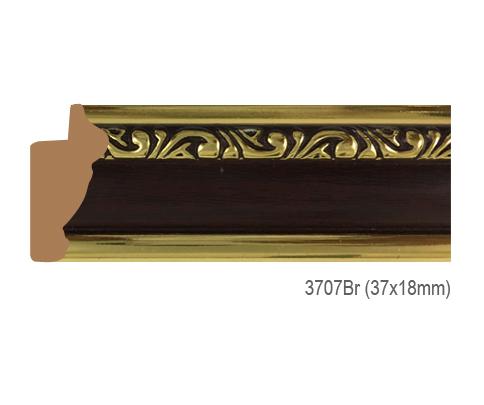 Thanh khung, phào (nẹp) làm khung tranh, khung hình mã 3707BR