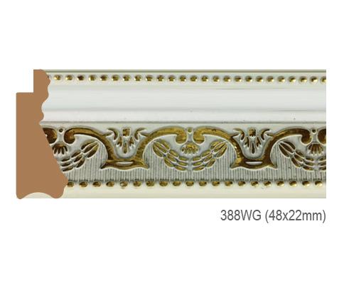 Thanh khung, phào (nẹp) làm khung tranh, khung hình mã 388WG