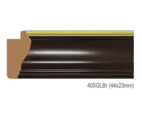 Thanh khung, phào (nẹp) làm khung tranh, khung hình mã 405GLBR