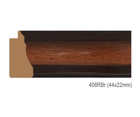 Thanh khung, phào (nẹp) làm khung tranh, khung hình mã 406RBR