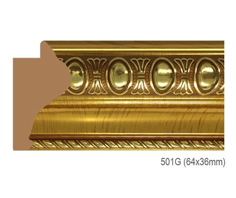 Thanh khung, phào (nẹp) làm khung tranh, khung hình mã 501G