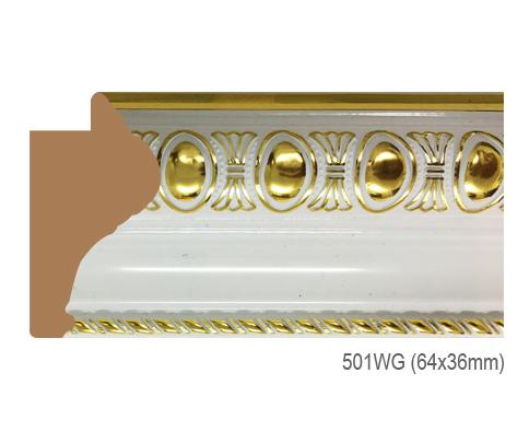 Thanh khung, phào (nẹp) làm khung tranh, khung hình mã  501WG