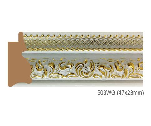 Thanh khung, phào (nẹp) làm khung tranh, khung hình mã  503WG