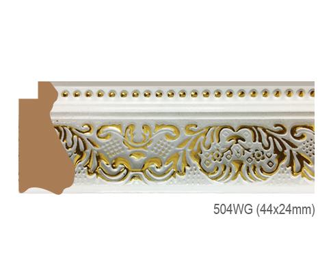 Thanh khung, phào (nẹp) làm khung tranh, khung hình mã 504WG