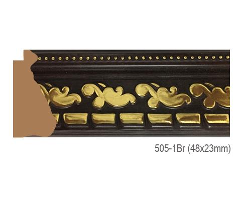 Thanh khung, phào (nẹp) làm khung tranh, khung hình mã 505-1BR
