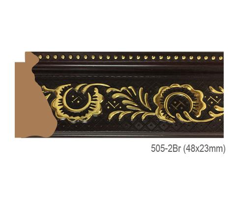 Thanh khung, phào (nẹp) làm khung tranh, khung hình mã 505-2BR