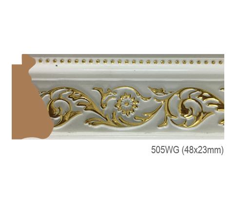 Thanh khung, phào (nẹp) làm khung tranh, khung hình mã 505WG