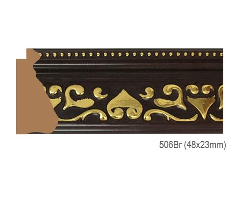 Thanh khung, phào (nẹp) làm khung tranh, khung hình mã 506BR