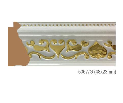 Thanh khung, phào (nẹp) làm khung tranh, khung hình mã 506WG