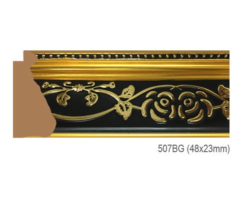 Thanh khung, phào (nẹp) làm khung tranh, khung hình mã 507BG