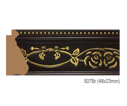 Thanh khung, phào (nẹp) làm khung tranh, khung hình mã 507BR