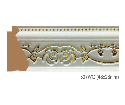 Thanh khung, phào (nẹp) làm khung tranh, khung hình mã 507WG