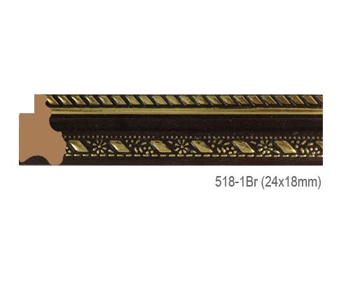 Thanh khung, phào (nẹp) làm khung tranh, khung hình mã 518-1BR