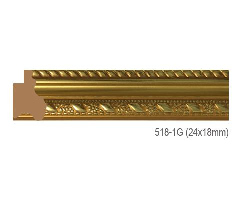 Thanh khung, phào (nẹp) làm khung tranh, khung hình mã 518-1G