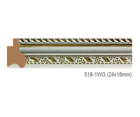 Thanh khung, phào (nẹp) làm khung tranh, khung hình mã 518-1WG