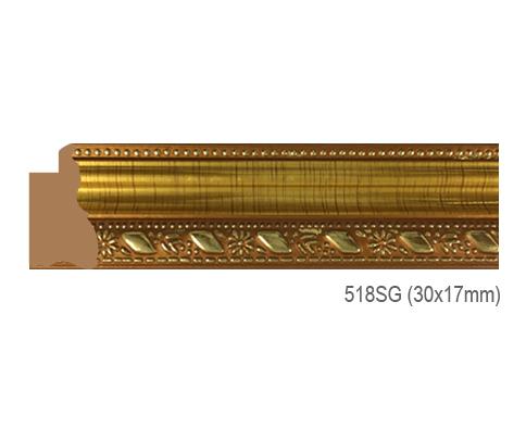 Thanh khung, phào (nẹp) làm khung tranh, khung hình mã 518SG