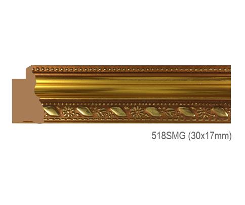 Thanh khung, phào (nẹp) làm khung tranh, khung hình mã 518SMG