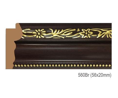 Thanh khung, phào (nẹp) làm khung tranh, khung hình mã 560BR