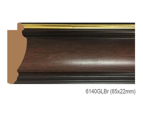 Thanh khung, phào (nẹp) làm khung tranh, khung hình mã 6140GLBR