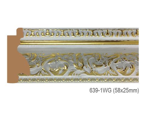 Thanh khung, phào (nẹp) làm khung tranh, khung hình mã 639-1WG