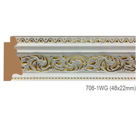Thanh khung, phào (nẹp) làm khung tranh, khung hình mã 706-1WG