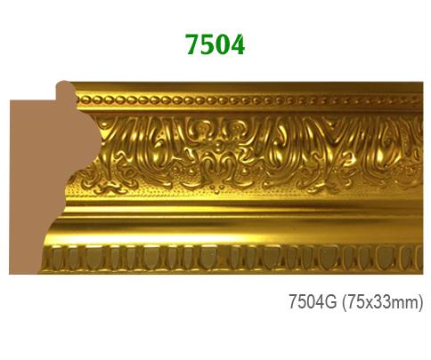 Thanh khung, phào (nẹp) làm khung tranh, khung hình mã 7504G