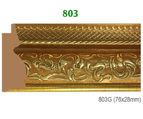 Thanh khung, phào (nẹp) làm khung tranh, khung hình mã 803G