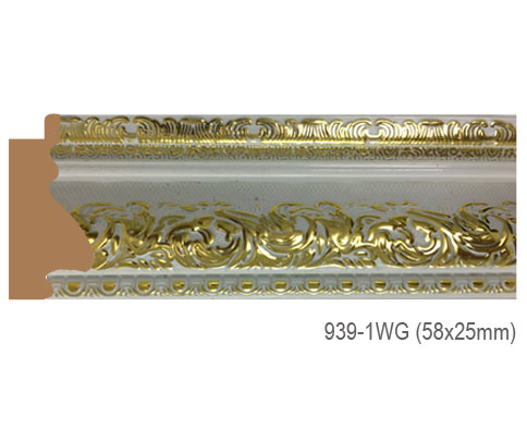Thanh khung, phào (nẹp) làm khung tranh, khung hình mã 939-1WG