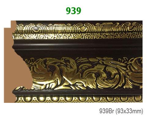 Thanh khung, phào (nẹp) làm khung tranh, khung hình mã 939BR
