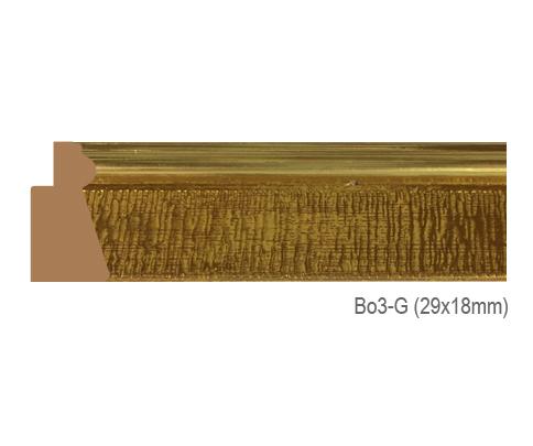 Thanh khung, phào (nẹp) làm khung tranh, khung hình mã BO3G