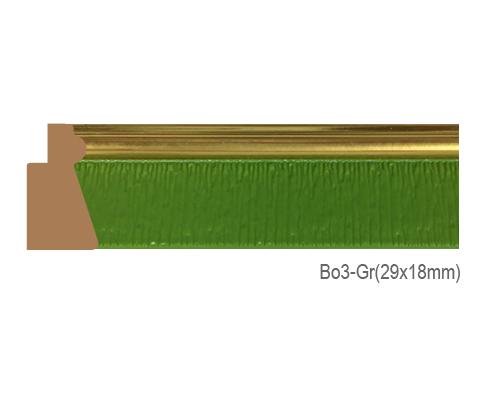 Thanh khung, phào (nẹp) làm khung tranh, khung hình mã BO3GR