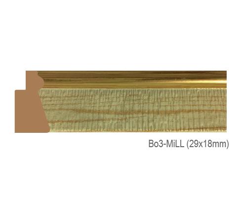 Thanh khung, phào (nẹp) làm khung tranh, khung hình mã BO3 MILL